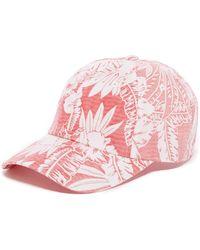 American Needle - Hawaiian Print Baseball Cap - Lyst