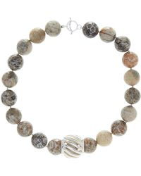 Simon Sebbag - Faceted Fossil Coral Necklace - Lyst