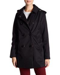Kate Spade - Scallop Pocket Raincoat - Lyst