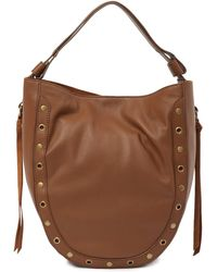 Lucky Brand - Tuli Leather Hobo Shoulder Bag - Lyst