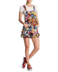 Love Moschino - Salopette Printed Overalls - Lyst
