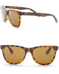 Ray-Ban - Highstreet 54mm Square Sunglasses - Lyst
