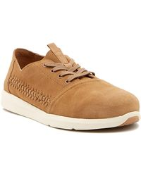 TOMS - Del Rey Suede Lace-up Trainer - Lyst