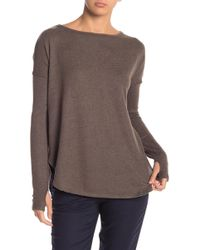 Sweet Romeo - Dolman Sleeved Pullover Sweater - Lyst