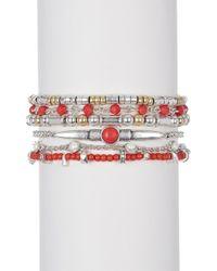 Lucky Brand - Lucky Layers Bracelet - Lyst