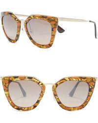 Prada - 52mm Retro Sunglasses - Lyst