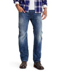 "DIESEL - Safado Slim Fit Distressed Straight Leg Jean - 30"" Inseam - Lyst"
