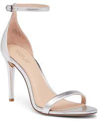 Rachel Zoe - Ema Metallic Leather Stiletto Sandal - Lyst