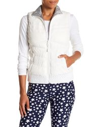 Warrior by Danica Patrick Active - Reversible Puffer Vest - Lyst