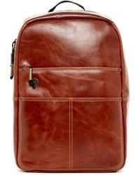 Focused Space - The Holster Leather Backpack - Lyst