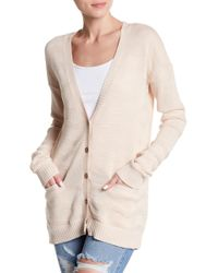 Lamade - Textured Two-pocket Cardigan - Lyst