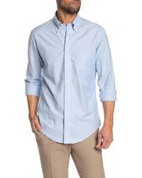 Brooks Brothers - Dobby Long Sleeve Regular Fit Shirt - Lyst