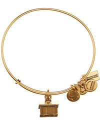 ALEX AND ANI - Monopoly House Charm Expandable Wire Bangle - Lyst