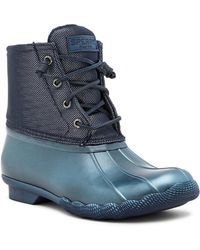 Sperry Top-Sider - Saltwater Pearlized Waterproof Boot - Lyst