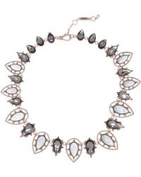 Jenny Packham - All Around Crystal Collar Necklace - Lyst