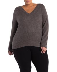 8c8ef9601fd NAKEDCASHMERE Lana Crew Neck Cashmere Sweater (plus Size) in Natural ...