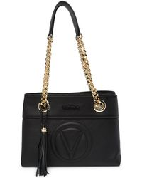 Valentino By Mario Valentino - Kali Leather Shoulder Bag - Lyst
