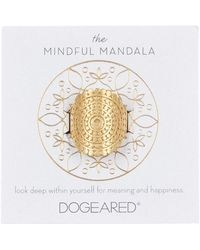 Dogeared - The Mindful Mandala Ring - Size 5 - Lyst