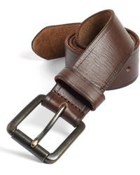 Johnston & Murphy - Leather Belt - Lyst
