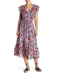 Lucky Brand - Asymmetrical Maxi Dress - Lyst