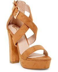 Elegant Footwear - Gabriela Platform Sandal - Lyst