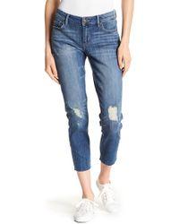 Lucky Brand - Lolita Distressed Knee Crop Skinny Jeans - Lyst
