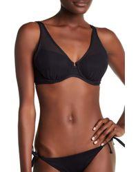 Tommy Bahama - Mesh Underwire Bikini Top - Lyst