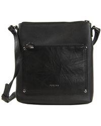 Judi Leather Crossbody Bag
