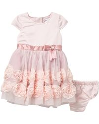 d70a26f5d7 Nicole Miller - Satin   Tulle Soutache Dress (baby Girls) - Lyst