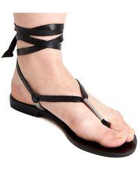 Matisse - Positano Leather Sandal - Lyst