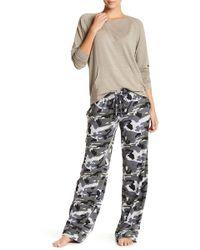 Daniel Buchler - Camo Print Lounge Trousers - Lyst