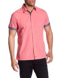 Robert Graham - Monkey Tail 2 Short Sleeve Woven Regular Fit Shirt - Lyst