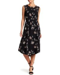 Lucky Brand - Floral Midi Dress - Lyst