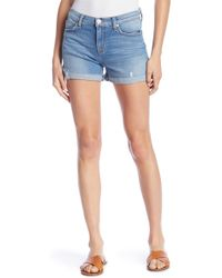 Hudson Jeans - Valeri Cut Off 1 Cuff Shorts - Lyst