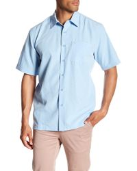 Quiksilver - Centinela Short Sleeve Comfort Fit Shirt - Lyst