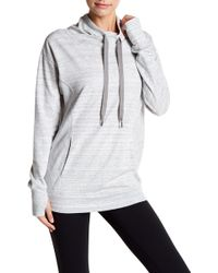 Zella - Wilderness Cowl Neck Sweatshirt - Lyst