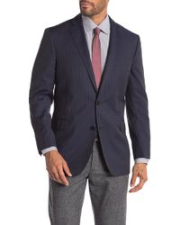 Brooks Brothers - Classic Fit Stripe Two Button Sport Jacket - Lyst