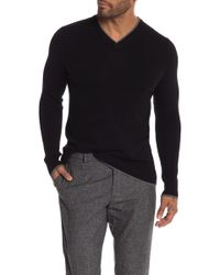 Autumn Cashmere - Ribbed Sleeve Cashmere Sweater - Lyst