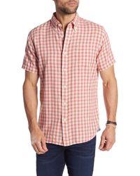 Grayers - Grove Mini Check Heather Summer Modern Fit Shirt - Lyst