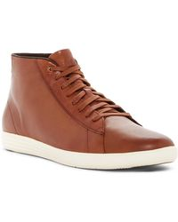 Cole Haan - Grand Crosscourt High Top Trainer - Lyst