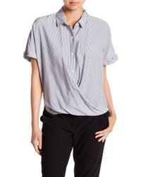 BCBGeneration - Wrap Hem Dolman Sleeve Shirt - Lyst