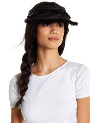 Lyst - Eric Javits Tiki Bucket Hat in Red 71c914657b6e