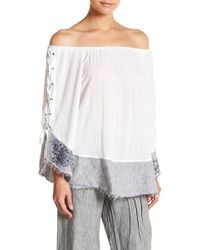 XCVI - Akaka Off-the-shoulder Top - Lyst