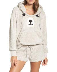 Cozy Zoe - Hooded Plush Pyjamas - Lyst