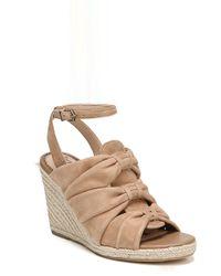 Sam Edelman - Awan Cinched Wedge Sandal (women) - Lyst