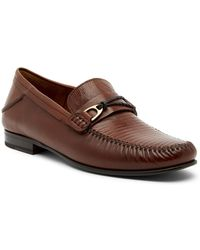 Mezlan - Genuine Lizard Moccasin Loafer - Lyst