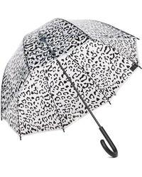 HUNTER - Dulse Wave Print Bubble Umbrella - Lyst