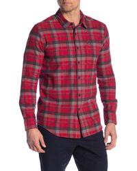 Volcom - Caden Modern Fit Plaid Shirt - Lyst