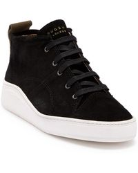 H by Hudson - Nagano Suede Sneaker - Lyst
