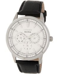 0d6941694 Lyst - Citizen Bu2070-55e Corso Watch Silver 44mm Stainless Steel in ...